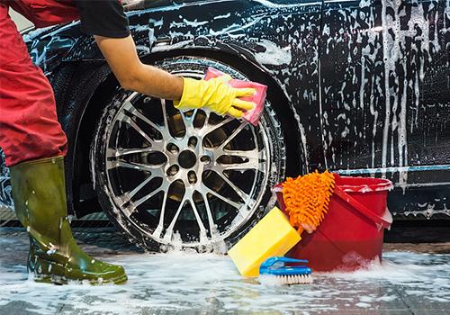 蔚蓝车服|上门洗车,能源节约环保新趋势节水洗车