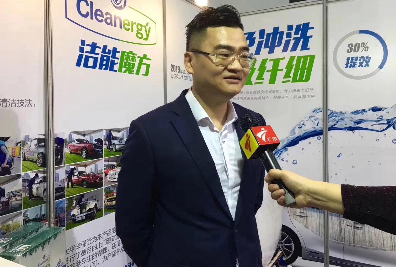 广东卫视采访现场